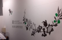 """Italian CROSS"" logo/wall design"