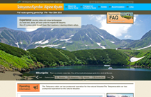 """Alpine Route""web"